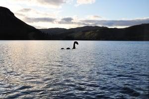 大陸女子藉網絡攝影機 目擊英國尼斯湖水怪