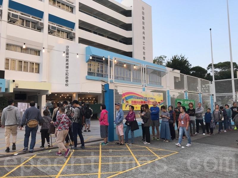 【11.24選舉】港人投票時發現已投過票 海外曝中共作弊方式