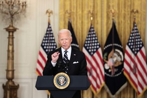 拜登表明護台立場 白宮官員:對台政策不變