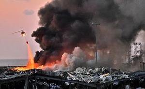 黎巴嫩大爆炸 特朗普:似是某種炸彈襲擊