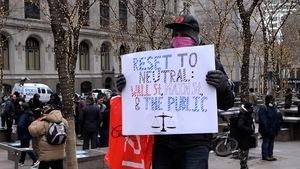 「重佔華爾街」 紐約共和黨青年舉辦集會