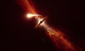 離地球最近潮汐破壞事件:黑洞撕碎吞噬恆星