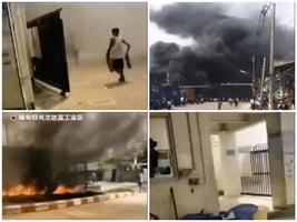 緬甸逾十中企遭縱火 民眾洩憤中共 殃及華人