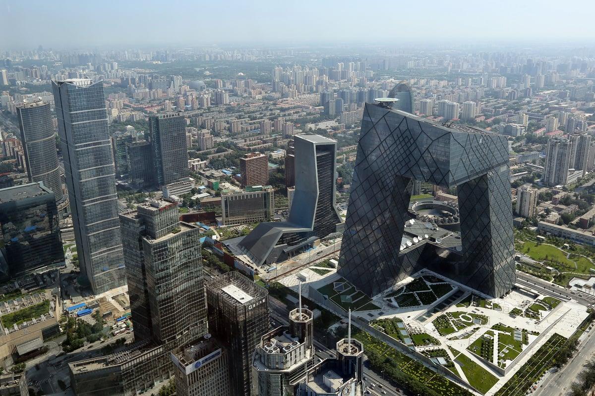 北京很多社區房價已經跌到了2016年,最慘的莫過於環北京樓市。 (Feng Li/Getty Images)