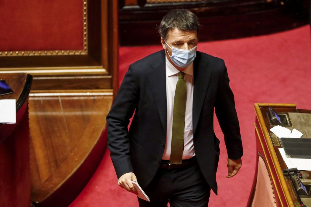 意大利總理朱塞佩·孔特(Giuseppe Conte)打算在2021年1月26日辭職。(ALESSANDRA TARANTINO/POOL/AFP via Getty Images)