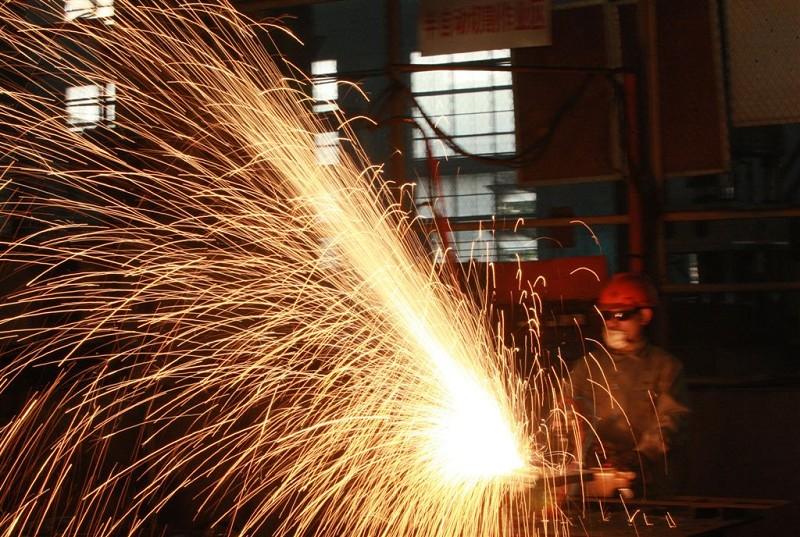 美國上月(2019年12月)的製造業增長,出人意料。(CHINA OUT AFP PHOTO)