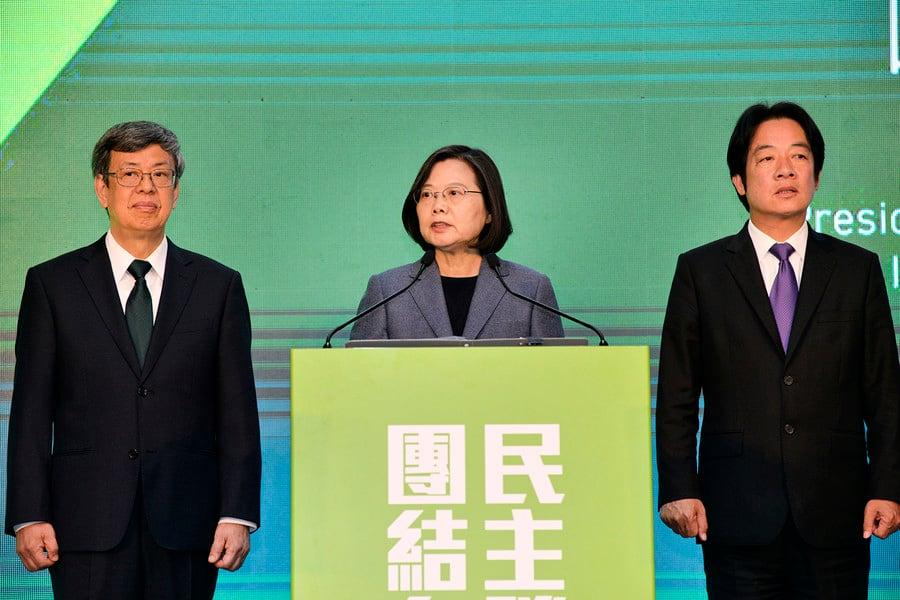 台灣大選蔡英文大勝 中共散播假新聞失敗