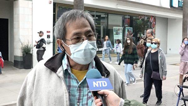 台灣人公共事務會(FAPA)洛杉磯分會會長李賢群認為中共對世界完全沒有貢獻,只有破壞世界。(新唐人電視台提供)