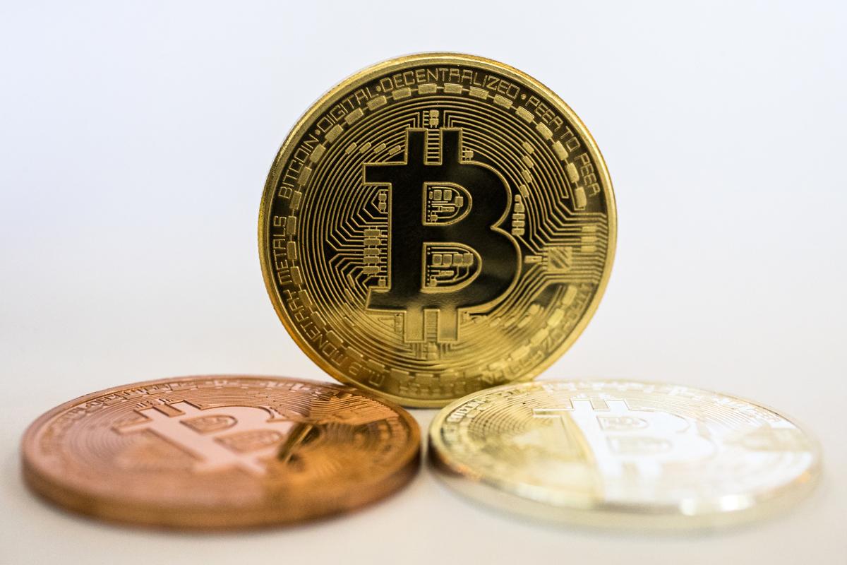 中共2021年5月18日收緊對虛擬貨幣的限制後,比特幣應聲下跌。(AFP)