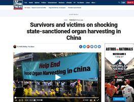 霍士:倖存者披露中共活摘器官 令人震驚