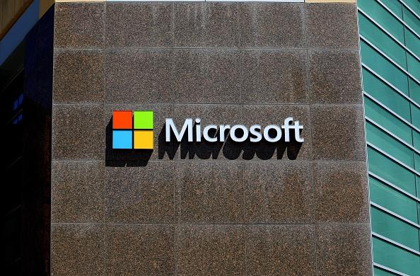 微軟據傳正在洽談收購TikTok的美國業務。(Raymond Boyd/Getty Images)