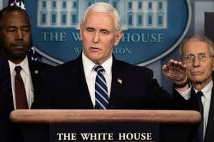 美副總統彭斯和夫人檢測中共病毒呈陰性