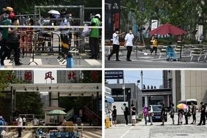 疫情擴散 北京社區被封 防疫警戒升級(多圖)