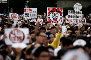 中共勢力威脅台灣新聞自由 中華民國政府反擊
