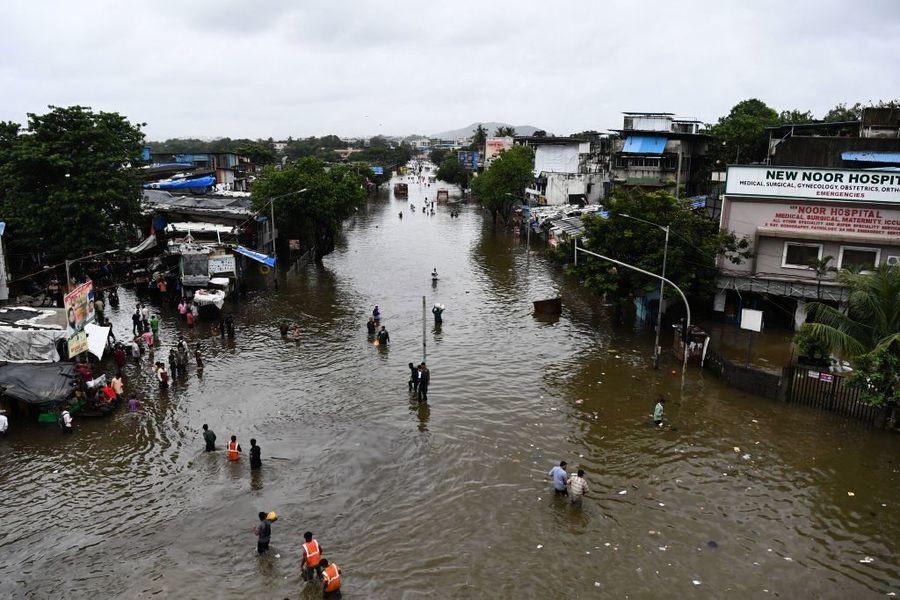 印度暴雨引發洪水和山泥傾瀉 至少125死