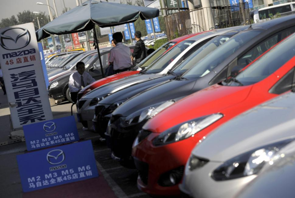 大陸汽車10月整體銷售預估比去年同期下滑逾二成,今年全年銷售負增長基本已成定局,車市或為26年來首見全年銷量倒退。(Getty images)