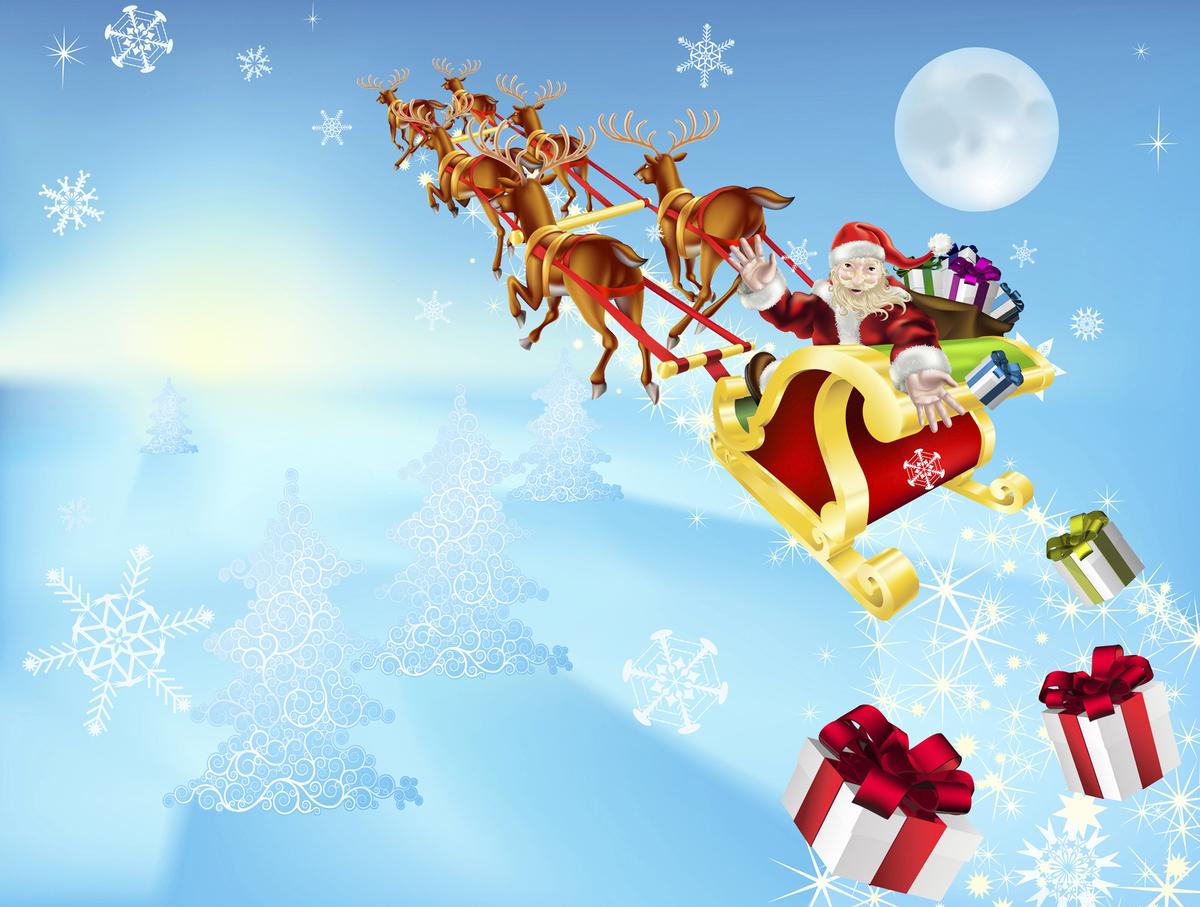 一年一度的聖誕節是西方最熱鬧的節日。圖為聖誕老人。(Fotolia)