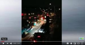 【現場片段】大客車排隊拉大連灣居民去隔離