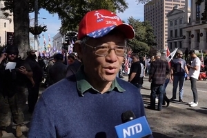 佐治亞集會捍衛美國民主 華人:神選擇了特朗普