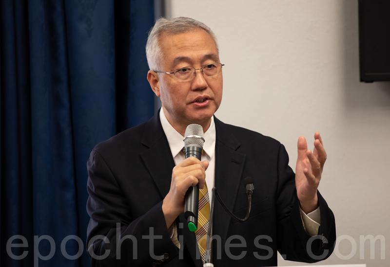 追查迫害法輪功國際組織主席汪志遠,資料照。(林樂予/大紀元)