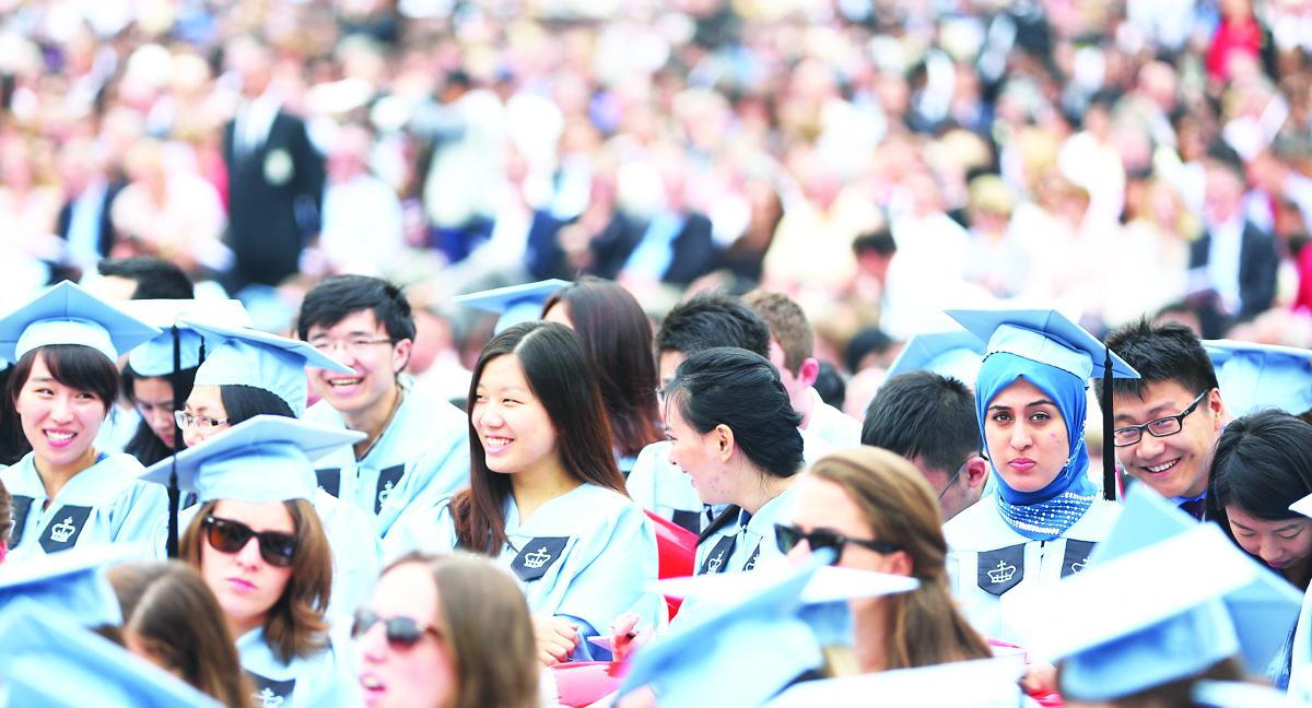英國目前有超過11萬的中國留學生,英國前進(Onward)智囊擔憂,這使得英國各大學過於依賴來自中國學生的學費,受到中共政府越來越多的審查。資料圖。(杜國輝/大紀元)