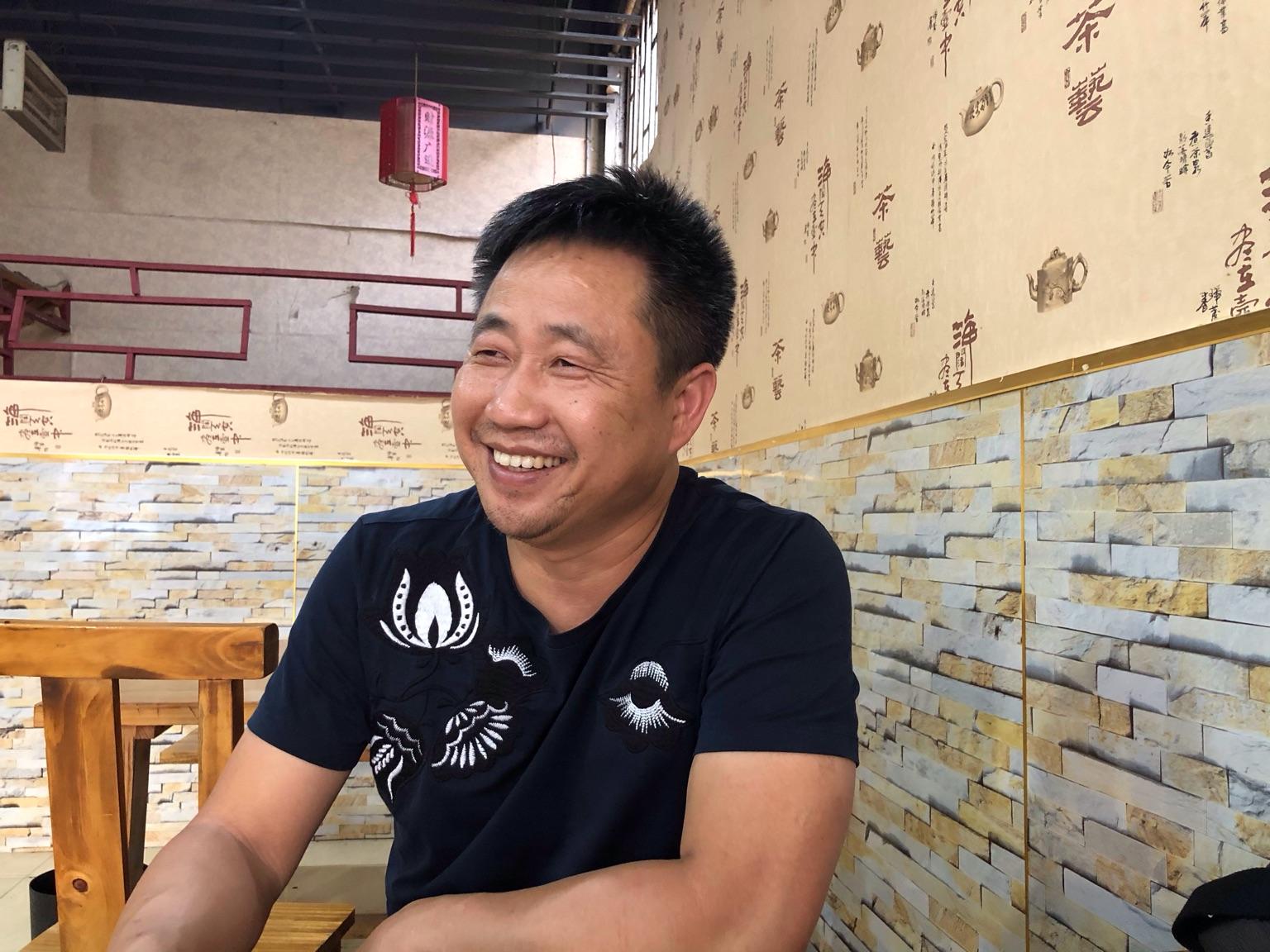 曾在709案中遭受酷刑的謝陽律師,於8月11日被湖南省司法廳非法吊銷律師執業證。(大紀元)