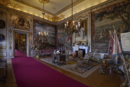 布倫海姆宮的第二謁見廳。(布倫海姆宮提供/Blenheim Palace)