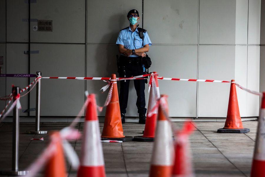 彭博:港府重罰起底行為 築港版「防火長城」
