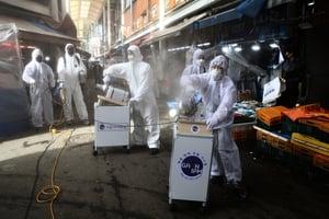 中共文宣嘲諷南韓疫情 韓媒:倒打一耙