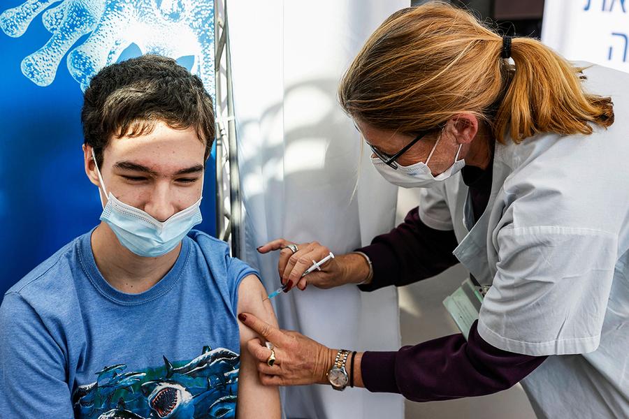 以色列:打疫苗突破感染風險 是自然感染13倍