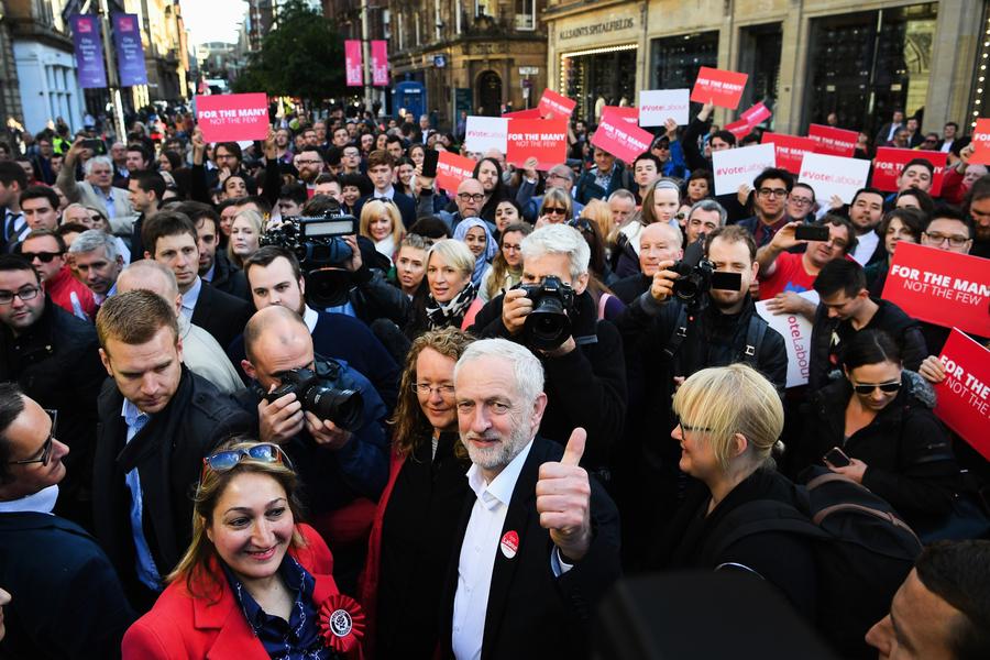 英國大選工黨慘敗 郝爾彬將辭任黨魁