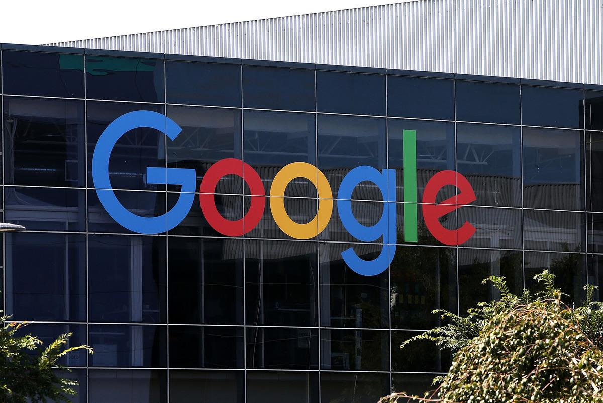 美國總統特朗普周三(3月27日)會見了谷歌首席執行官皮查伊,討論了「政治公平」以及谷歌在中國的業務等議題。(Justin Sullivan/Getty Images)