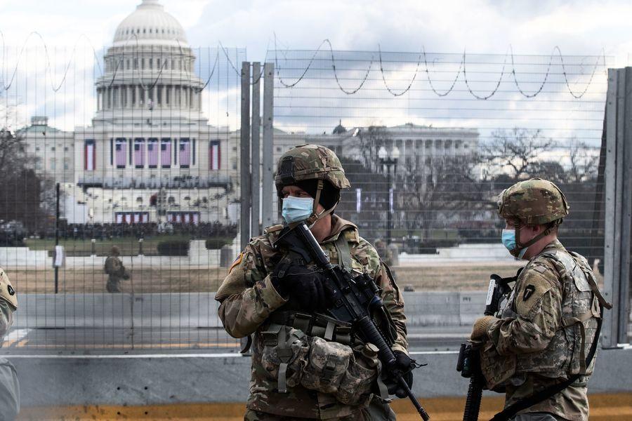 特朗普澄清國會事件 曾要求部署萬名警衛遭拒