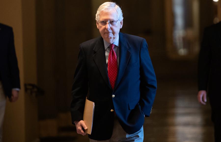 二千元救濟法案移參院 麥康奈爾面臨壓力