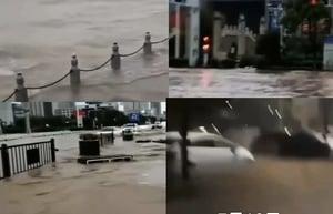 三峽現今年最大洪水 入庫6.1萬立方米/秒持續10小時
