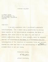 信件顯示愛因斯坦對生物學也有前瞻遠見