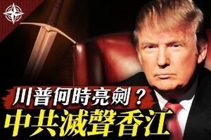 【十字路口】中共趁機控香港 特朗普何時亮劍?