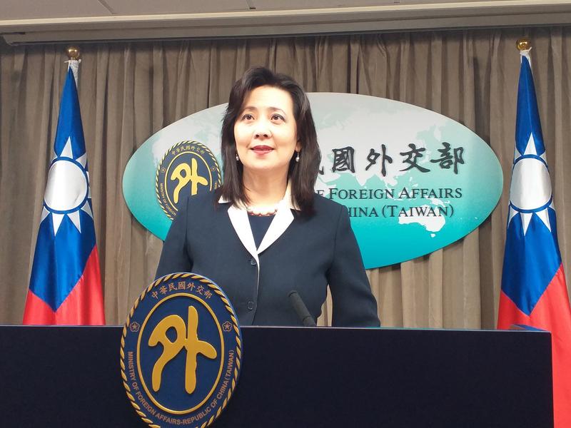中華民國外交部發言人歐江安。(中央社)