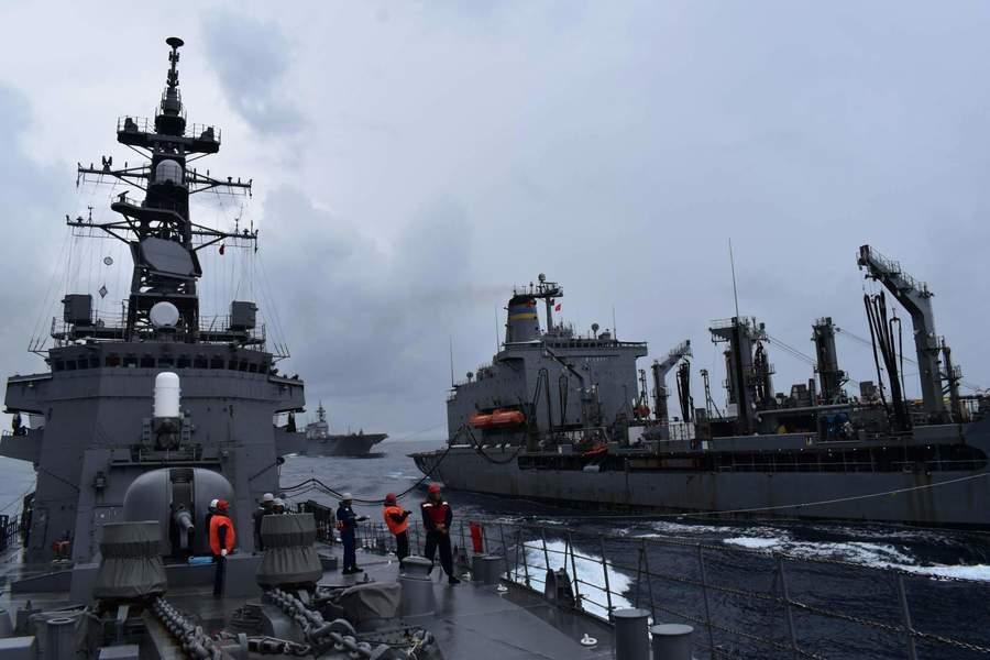 美日南海聯合軍演 加強戰力確保印太安全