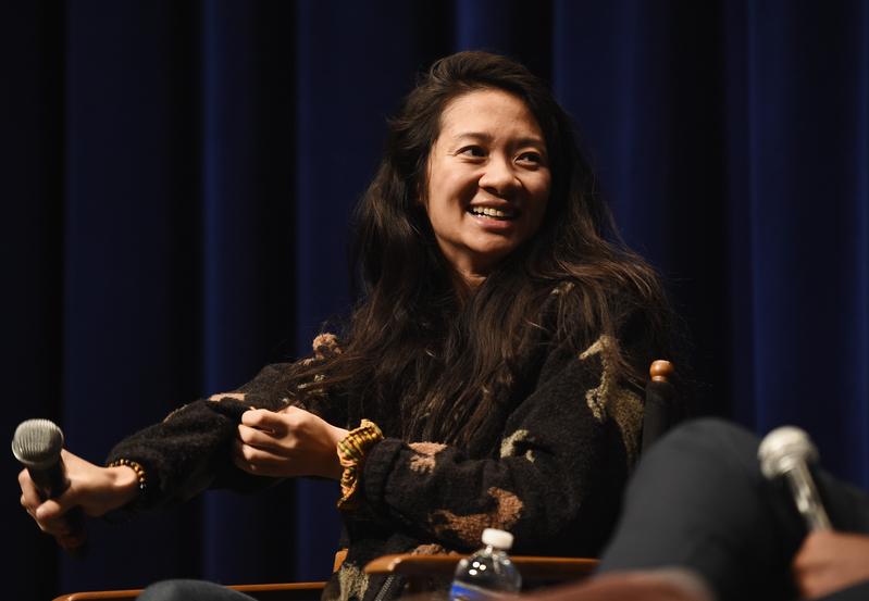 中國女導演趙婷憑著執導作《無依之地》(Nomadland,暫譯)摘下第77屆威尼斯影展最高獎項最佳影片金獅獎。圖為資料照。(Amanda Edwards/Getty Images)