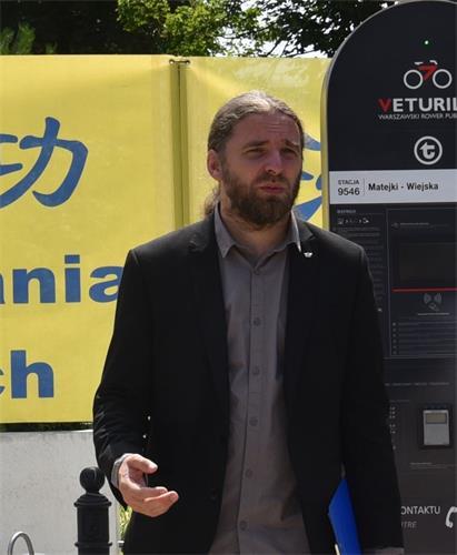 波蘭議員多布羅米爾‧紹斯尼爾茲(Dobromir Sośnierz)。(明慧網)