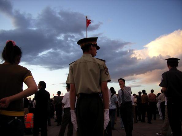 天安門廣場。(Getty Images)