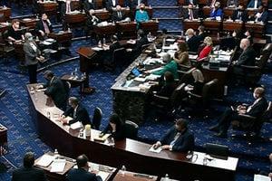 七名共和黨人投票定罪特朗普 面臨黨內反擊