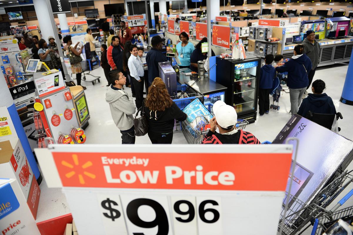 網絡上,中國人一直羨慕美國的物價。(AFP)