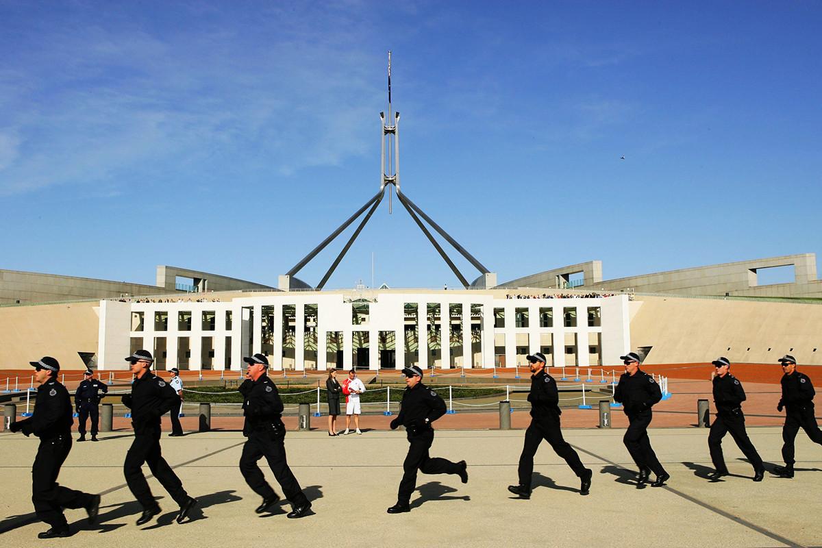 2020年6月9日,澳洲戰略政策研究所(ASPI)研究員周安瀾(Alex Joske)發佈了最新報告揭示中共統戰系統如何滲透國際社會。圖為澳洲國會大廈。(Matt King/Getty Images)