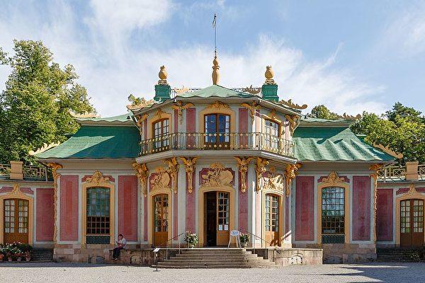 瑞典德羅亭霍爾姆(Drottningholm)的「中國屋」。(Photo by CEphoto, Uwe Aranas/公有領域/CC)