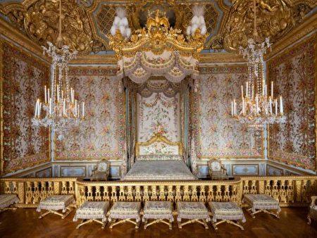 王后的寢室。(Thomas Garnier/Chateau de Versailles,凡爾賽宮提供)