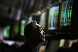A股下跌 滬指跌下2900點 外資淨流出109億