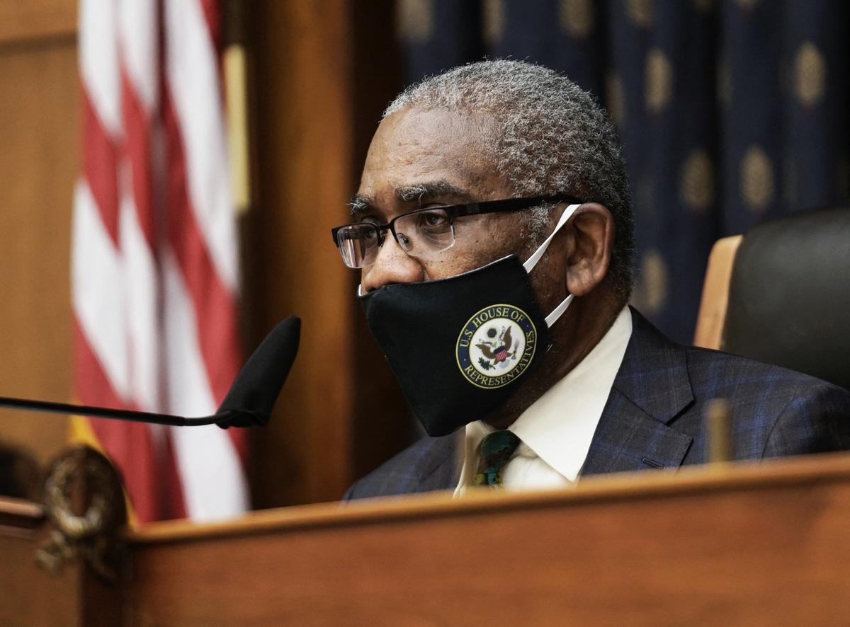 眾議院外交委員會主席、紐約民主黨議員格雷戈里.米克斯(Gregory Meeks)。(KENCEDENO/POOL/AFP via Getty Images)