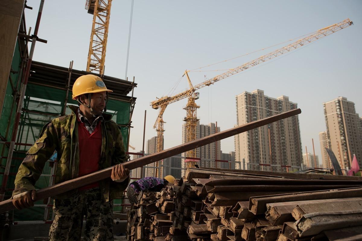 大陸學者馬駿建議永久取消GDP增長目標。(NICOLAS ASFOURI/AFP)